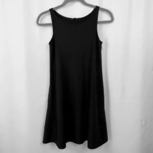 Theory Black Wool Shift Dress Womens Size 0